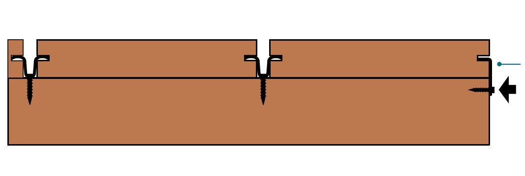 Lắp đặt sàn tre ngoài trời 03