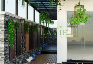 Showroom Lavie Bamboo San Tre Ngoai Troi Vinhomes Harmony 1