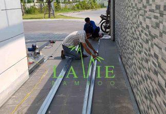 Showroom Lavie Bamboo San Tre Ngoai Troi Vinhomes Harmony 9
