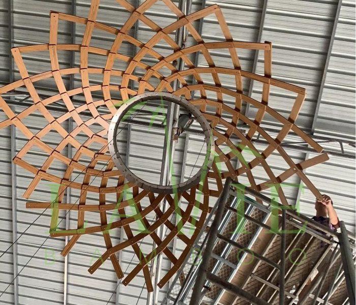 Thi Cong Den Long Tre Vo Cuc Tai 6 Miles Coast Resort Lavie Bamboo 1