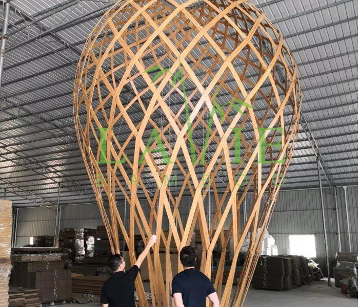 Thi Cong Den Long Tre Vo Cuc Tai 6 Miles Coast Resort Lavie Bamboo 5